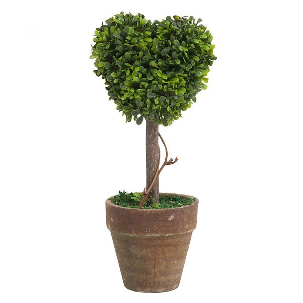 Декоративный цветок в горшке Amour МаленькийДомашний сад<br>Декоративный цветок из ПВХ в горшке Amour <br>Piccolo — очаровательный предмет интерьера <br>в виде милого зелёного сердечка. Он может <br>стать как превосходным украшением вашего <br>дома, которое, несомненно, будет вызывать <br>восхищение у окружающих, так и подарком <br>любимому человеку. Цветы сейчас пользуются <br>большой популярностью в качестве презента, <br>именно поэтому декоративный цветок в горшке <br>— гарантированная радость в глазах близких <br>людей.<br><br>Цвет: Зелёный<br>Материал: Пластик<br>Вес кг: 0,1<br>Длина см: 13<br>Ширина см: 6,75<br>Высота см: 21