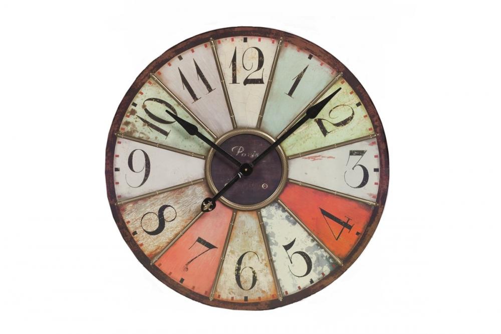 Настенные часы Escocho DG-HOME Настенные часы Escocho — это уникальный, ни  с чем несравнимый предмет интерьера, который  способен украсить собой любую комнату вашего  дома. Оригинальный циферблат с хаотичными  разноцветными делениями не оставит равнодушным  ни одного человека, которого привлекают  неповторимые и изысканные вещи. Основание  из МДФ и высококачественный встроенный  механизм гарантируют часам достаточно  долгую работоспособность.