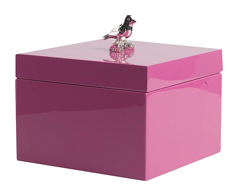 Купить Шкатулка для украшений Rebel Fuchsia Mini в интернет магазине дизайнерской мебели и аксессуаров для дома и дачи