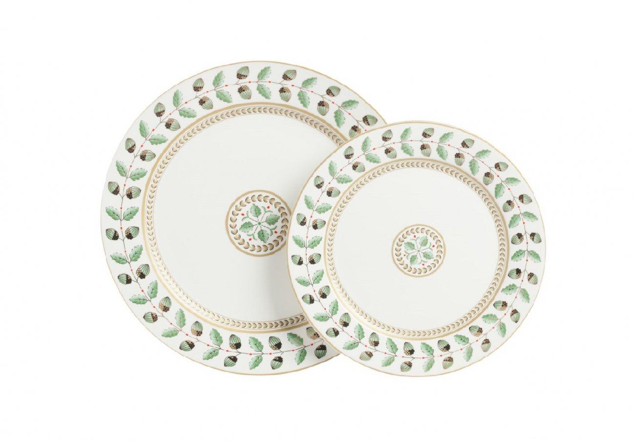 Купить Комплект тарелок Flober в интернет магазине дизайнерской мебели и аксессуаров для дома и дачи