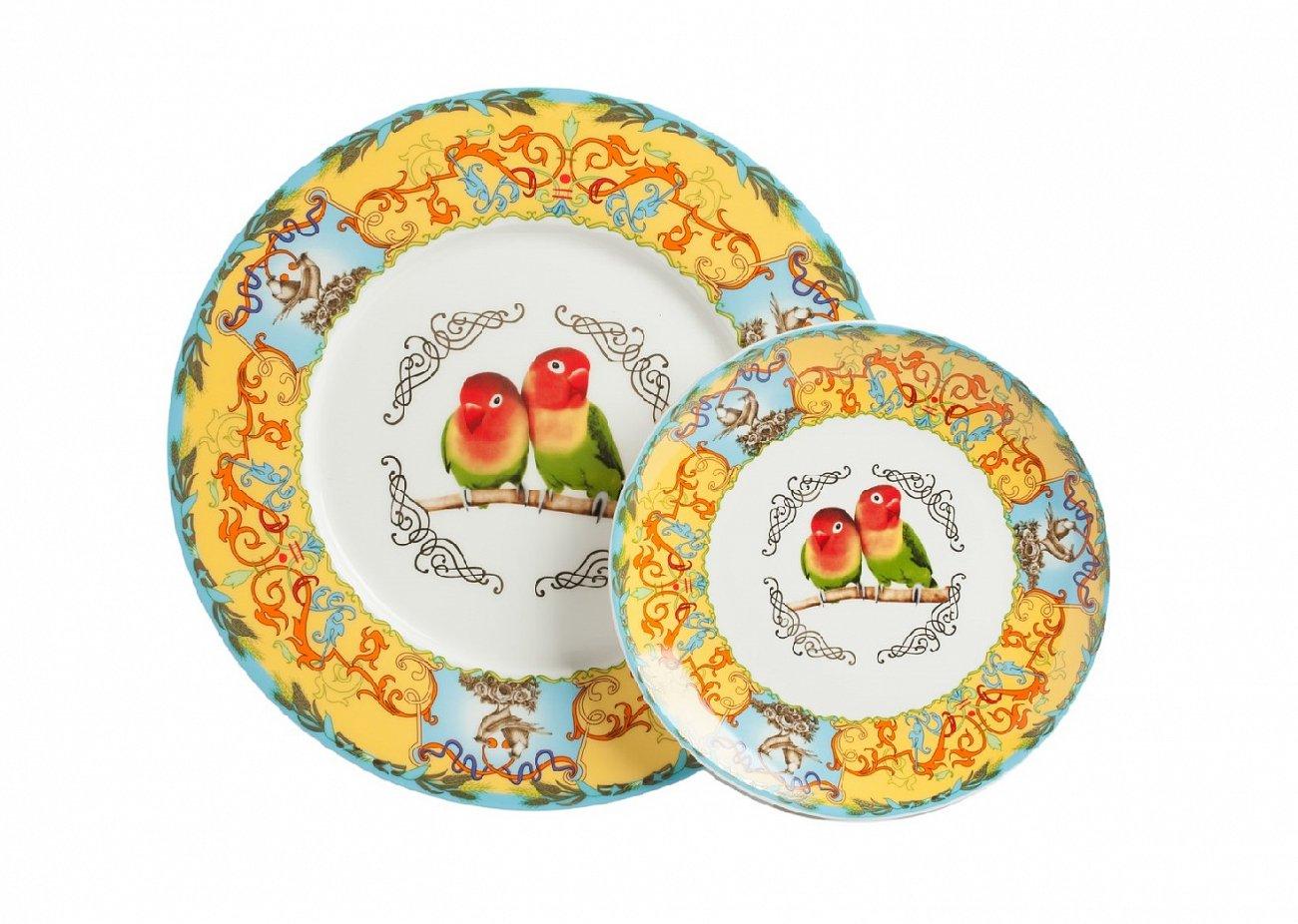 Купить Комплект тарелок Loranso в интернет магазине дизайнерской мебели и аксессуаров для дома и дачи