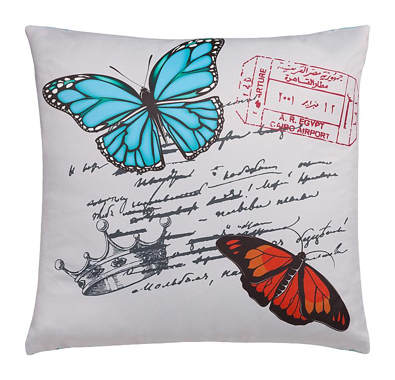 Подушка с бабочками Le Message Romantique