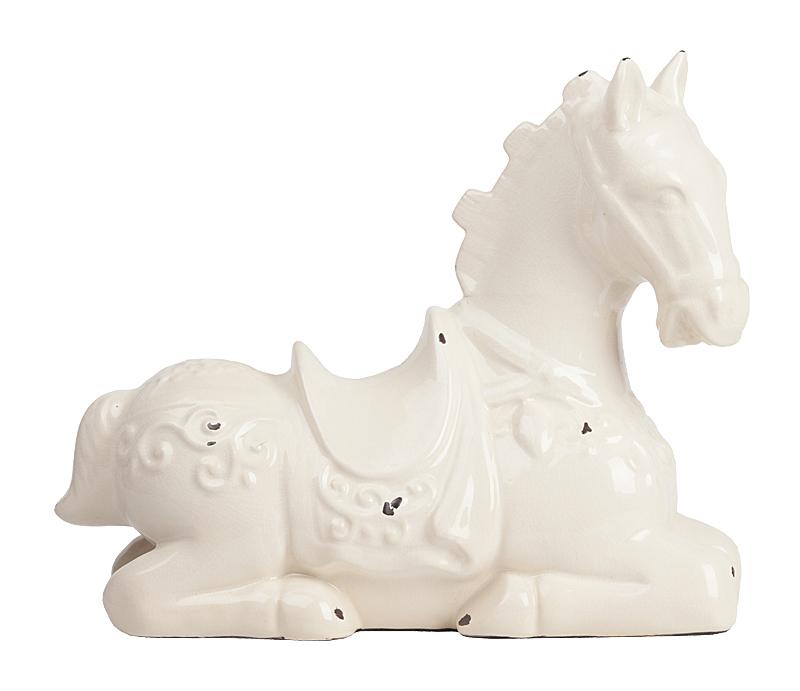 Фото Предмет декора статуэтка лошадь Parada Blanco. Купить с доставкой