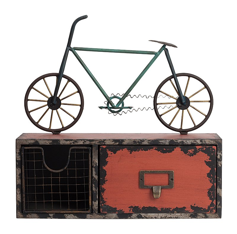 Купить Декоративный ящик для мелочей Bicicleta в интернет магазине дизайнерской мебели и аксессуаров для дома и дачи
