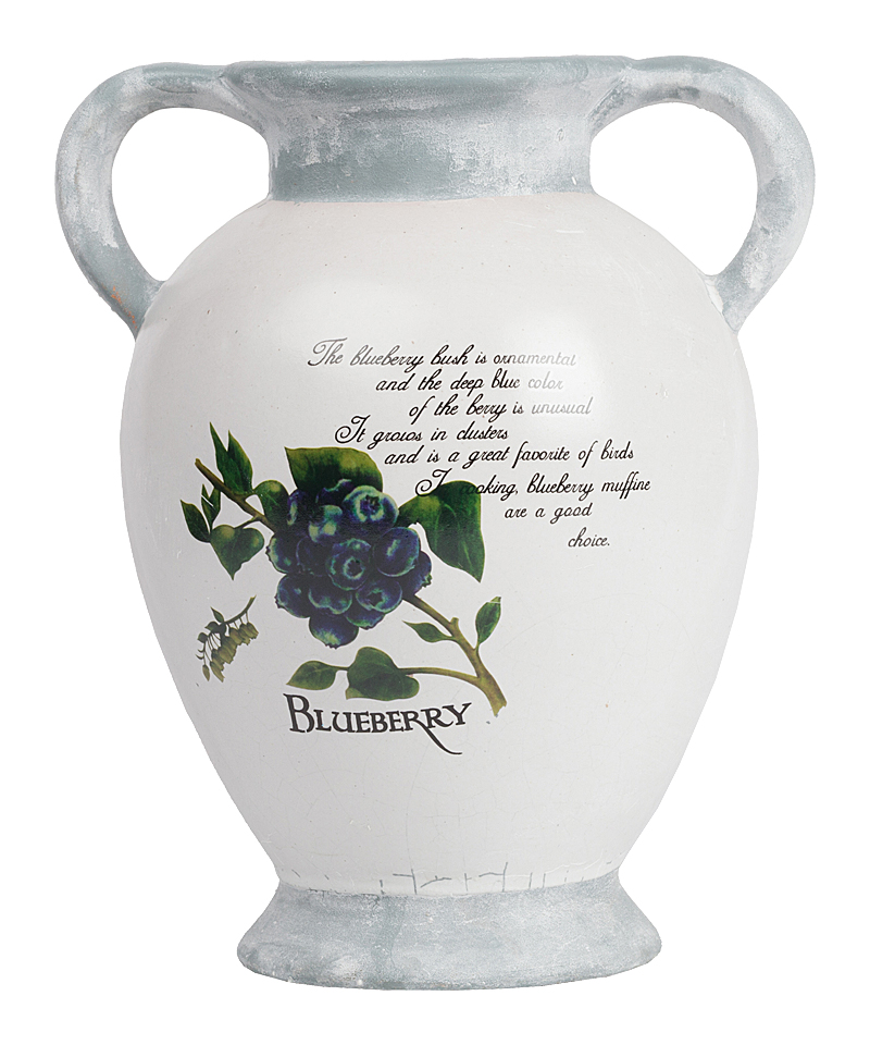 Декоративная ваза TessaВазы<br>Главное украшение любого дома — это цветы, <br>правильно и удачно расставленные по комнатам. <br>Декоративная ваза Tessa поможет создать уют <br>и неповторимую обстановку, оформить интерьер <br>со вкусом и освежить его. Несмотря на свою <br>небольшую высоту, ваза является достаточно <br>вместительной, поэтому вы смело сможете <br>поставить в нее как букетик полевых цветов, <br>так и роскошные розы из магазина.<br><br>Цвет: Белый, Cиний, Зелёный<br>Материал: Керамика<br>Вес кг: 2<br>Длина см: 21<br>Ширина см: 17,5<br>Высота см: 26