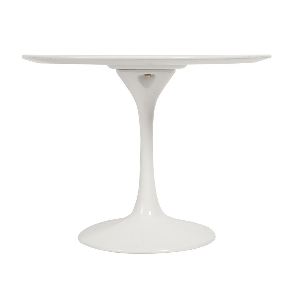 Стол журнальный Eero Saarinen Style Tulip Table белый