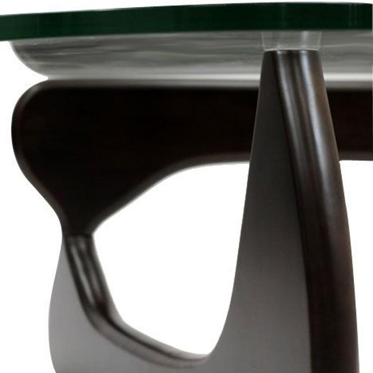 Стол журнальный Isamu Noguchi Style Coffee Table черный