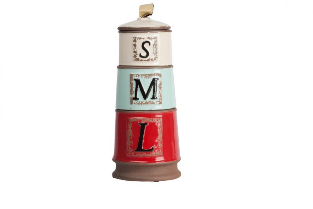 Декоративная ваза TorretaВазы<br>Оригинальная и неповторимая декоративная <br>ваза Torreta — это удачное приобретение для <br>тех, кто любит изысканные вещи, пронизанные <br>духом юга Франции. Сочетание в одном предмете <br>бежевого, нежного голубого и насыщенного <br>красного цветов дает поистине уникальный <br>аксессуар, который привнесет в ваш дом роскошь, <br>шик и очарование. Идеально подходит как <br>для хранения мелких вещей, так и для букета <br>цветов.<br><br>Цвет: Бежевый, Голубой, Красный<br>Материал: Керамика<br>Вес кг: 1,7<br>Длина см: 14<br>Ширина см: 14<br>Высота см: 33