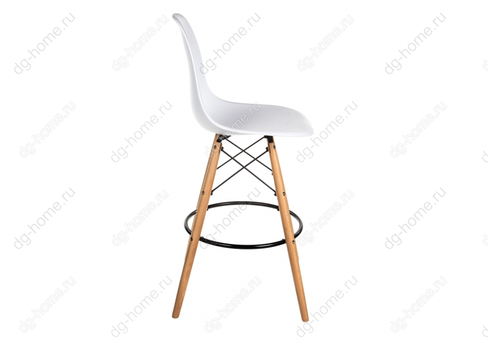 Барный стул  PC-007 белый (eames style)