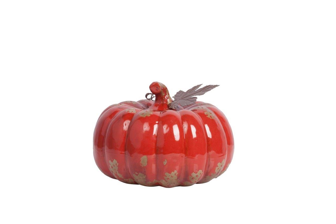 Купить Предмет декора статуэтка тыква Calabaza Red в интернет магазине дизайнерской мебели и аксессуаров для дома и дачи