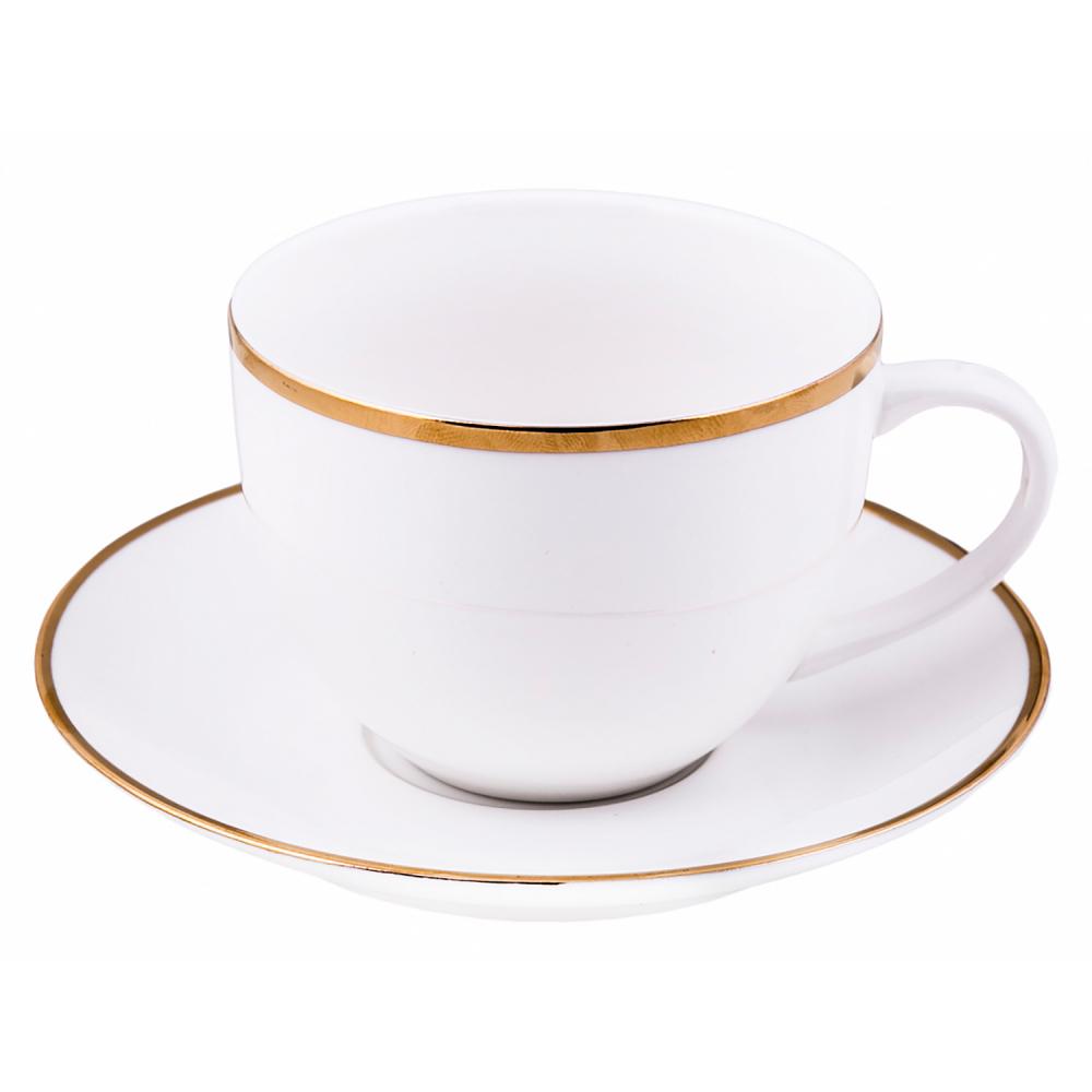 Чайная пара Gera золото