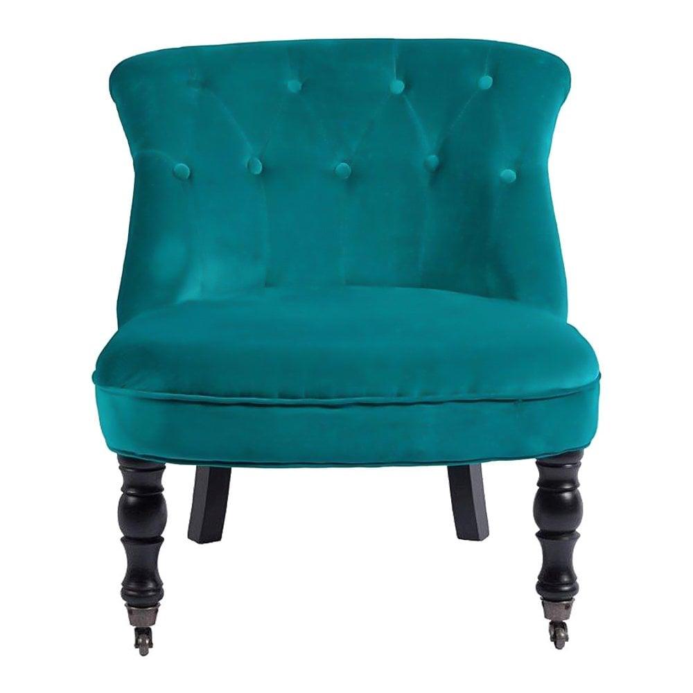 Кресло Ribbone Изумрудный Вельвет