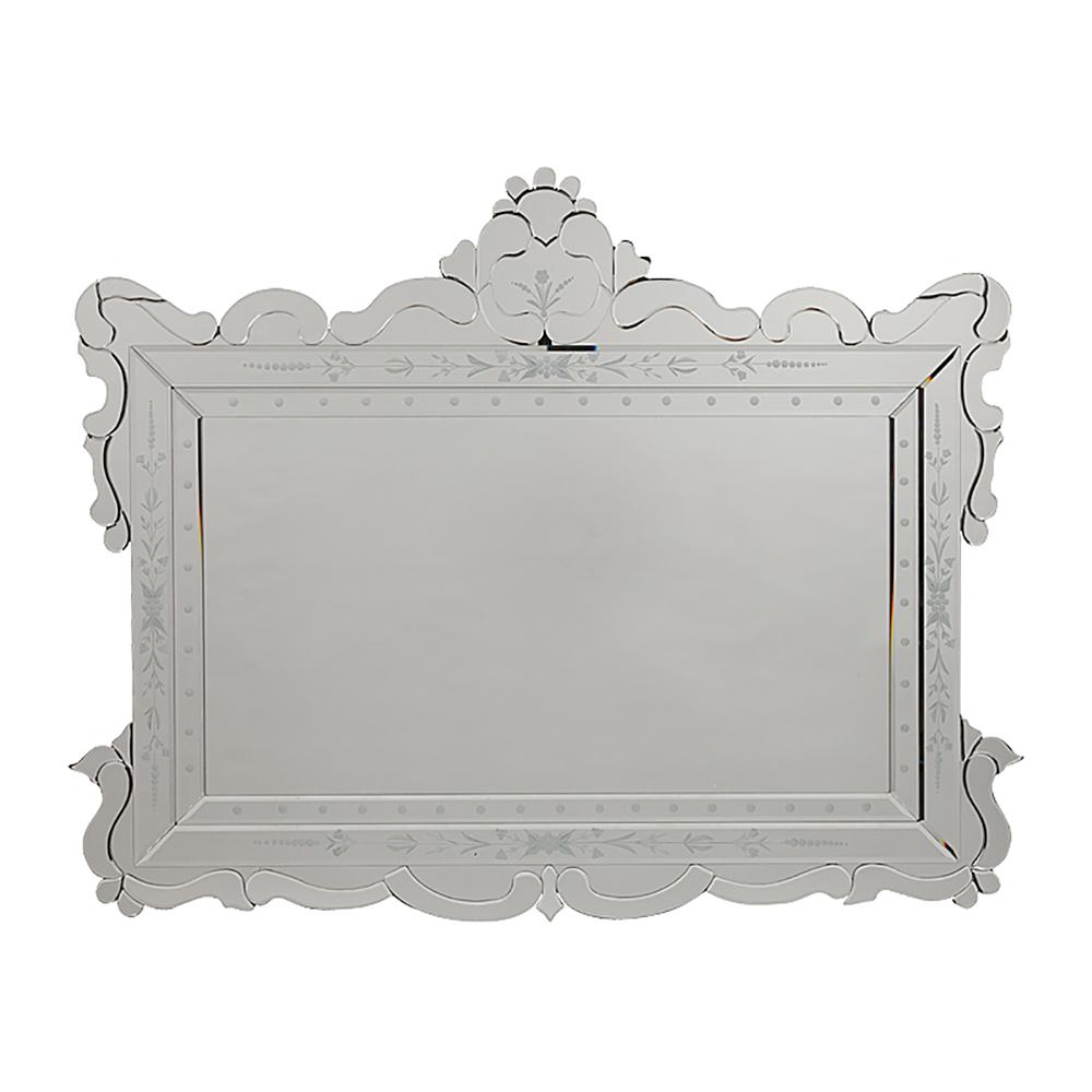 Зеркало PandoraЗеркала<br>Большое, удобное и роскошное зеркало Pandora <br>— современный, ярко выраженный предмет <br>интерьера, который непременно подчеркнет <br>изысканное убранство вашего дома и добавит <br>ему лоска, роскоши и богатства. Благодаря <br>размерам аксессуар визуально увеличит <br>пространство комнаты, будь то шикарная <br>гостиная или уютная спальня. Мебель из коллекции <br>Mirror Tale – это настоящая находка для смелых <br>и решительных людей.<br><br>Цвет: Серебро<br>Материал: МДФ, Зеркало<br>Вес кг: 12<br>Длина см: 115<br>Ширина см: 2,5<br>Высота см: 90