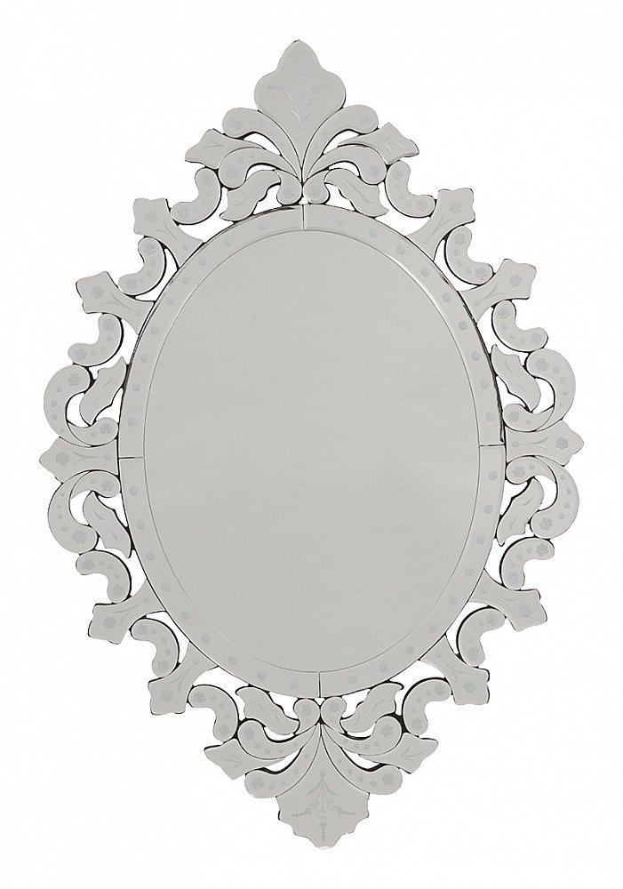 Зеркало FiadorЗеркала<br>Зеркало Fiador — это не обычный предмет интерьера, <br>в который смотрятся перед выходом, а настоящее <br>произведение искусства и предмет дизайнерского <br>решения по украшению вашего дома. Оригинальная <br>и изысканная рама и аристократическая овальная <br>форма аксессуара делают его неповторимым <br>и роскошным. Зеркало украсит помещение, <br>оформленный в любом современном или винтажном <br>стиле.<br><br>Цвет: Серебро<br>Материал: МДФ, Зеркало<br>Вес кг: 10,5<br>Длина см: 53<br>Ширина см: 2,5<br>Высота см: 79
