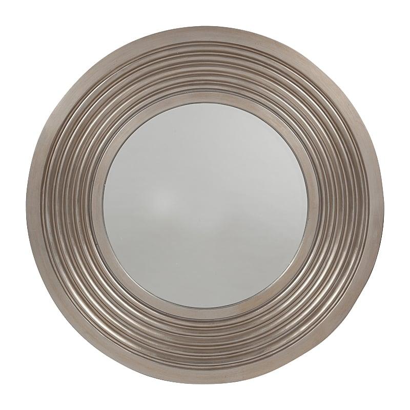 Зеркало JadoreЗеркала<br>Утонченное и изысканное зеркало Jadore достаточно <br>внушительного размера украсит при этом <br>как маленькую уютную комнату, так и большую <br>просторную гостиную, привнеся дополнительный <br>уют и тепло, роскошь и лоск. Отражая интерьер <br>и свет, аксессуар поможет визуально расширить <br>пространство, сделав ваш дом еще красивее <br>и оригинальнее.<br><br>Цвет: Серебро<br>Материал: Пластик, Зеркало<br>Вес кг: 11,8<br>Длина см: 102<br>Ширина см: 6<br>Высота см: 102