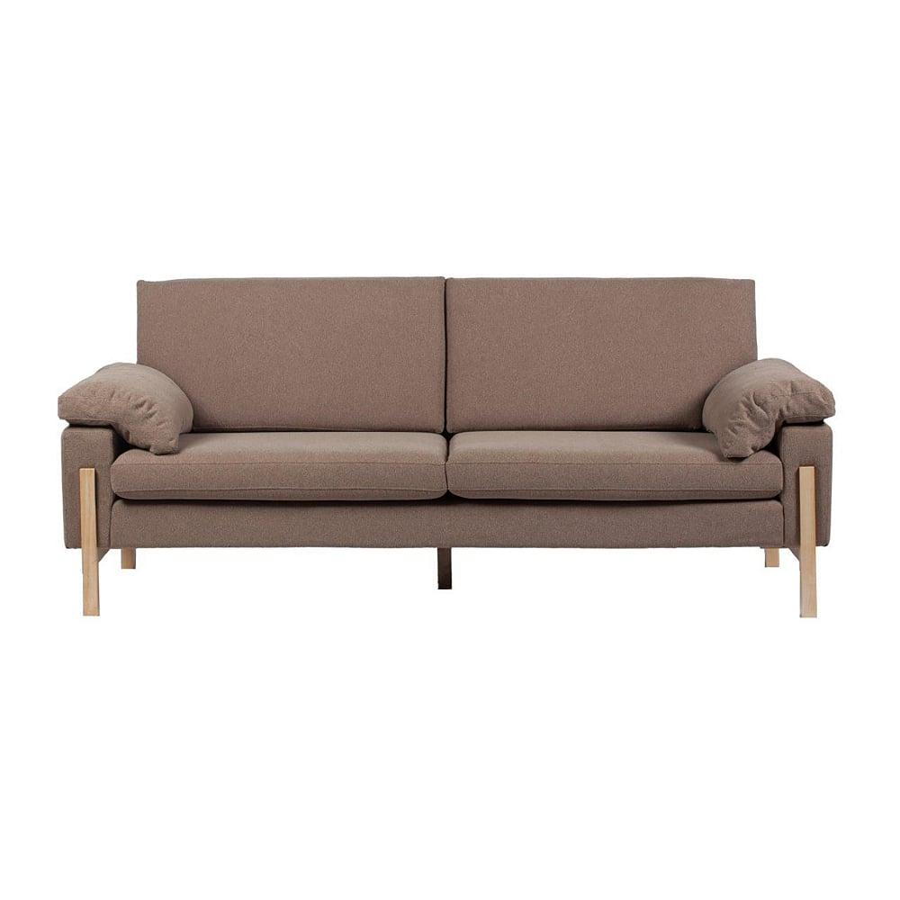 Диван Como Sofa КоричневыйДиваны<br>Изысканный диван Como Sofa станет превосходным <br>украшением вашей гостиной или любой другой <br>комнаты дома. Цветовое и дизайнерское решение <br>позволяют такому предмету мебели украсить <br>собой как классический, так и современный <br>интерьер, а благодаря размерам диван не <br>будет делать комнату громоздкой и даже <br>наоборот – поможет визуально сделать пространство <br>больше. Удобный и мягкий, на деревянном <br>каркасе с деревянными ножками – он непременно <br>вам понравится.<br><br>Цвет: Коричневый<br>Материал: Ткань, Поролон, Дерево<br>Вес кг: 66<br>Длина см: 200<br>Ширина см: 85<br>Высота см: 80