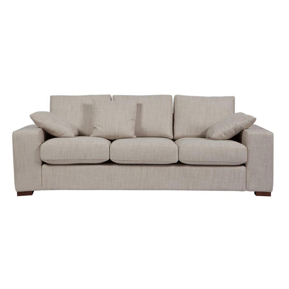 Диван Andrew Sofa Большой Бежевый DG-HOME Изысканный диван Andrew Grande Sofa в классическом  стиле станет превосходным украшением вашей  гостиной или любой другой комнаты и удобным  местом отдыха. Приятный неброский бежевый  цвет обивки и мягкие подушки придают предмету  мебели некую воздушность и легкость. Ножки,  как и основание дивана, изготовлены из дерева,  что говорит о его прочности и долговечности.  Украшайте ваш дом со вкусом!