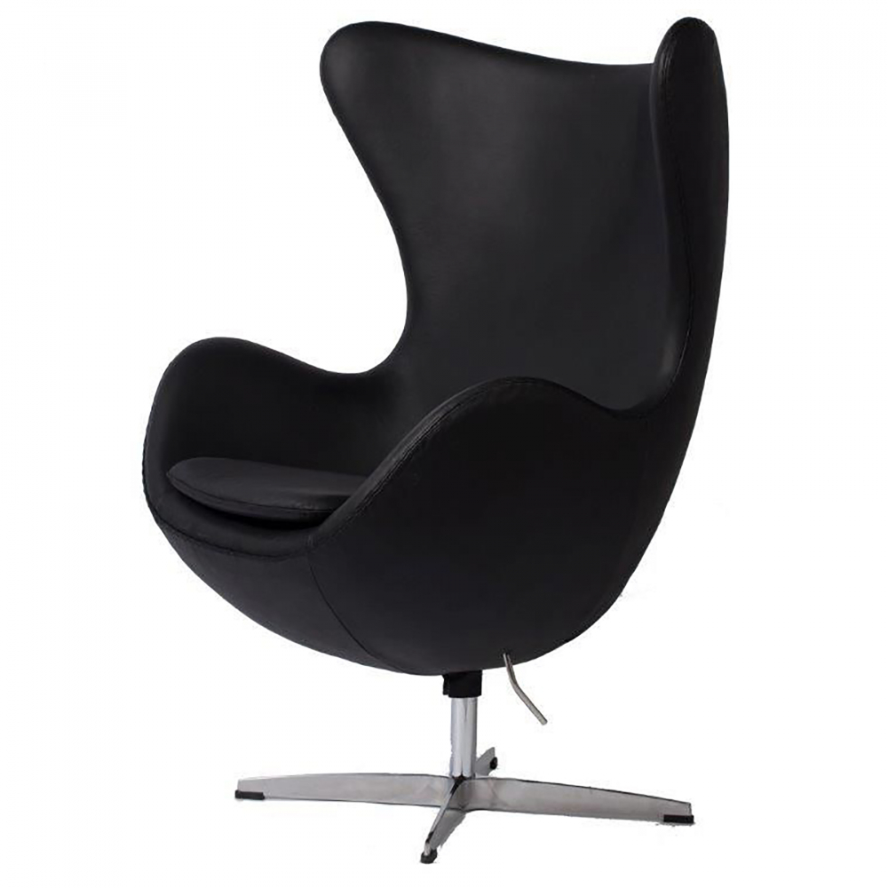 Кресло Egg Chair Черная Кожа Класса Премиум,  DG-F-ACH324-3 от DG-home