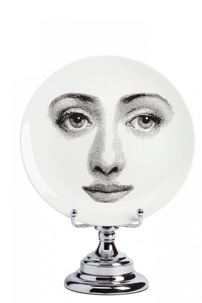 Фото Декоративная тарелка на подставке Пьеро  Форназетти Bombetta. Купить с доставкой