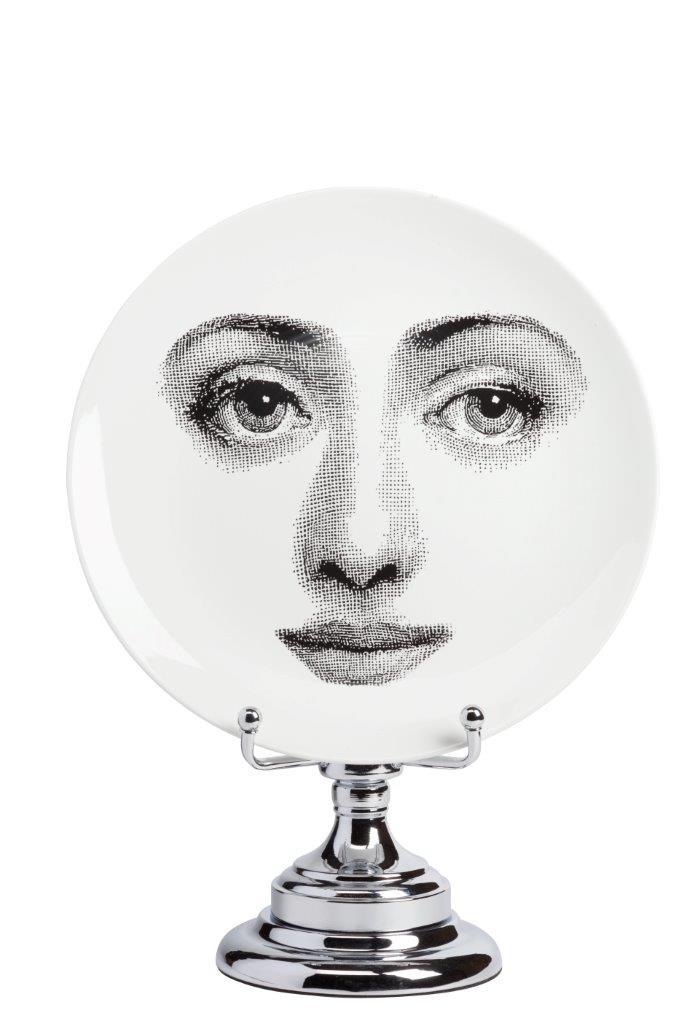 Купить Декоративная тарелка на подставке Пьеро Форназетти Bombetta в интернет магазине дизайнерской мебели и аксессуаров для дома и дачи