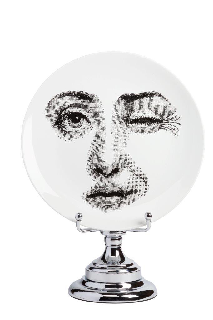 Купить Декоративная тарелка на подставке Пьеро Форназетти Peccato в интернет магазине дизайнерской мебели и аксессуаров для дома и дачи