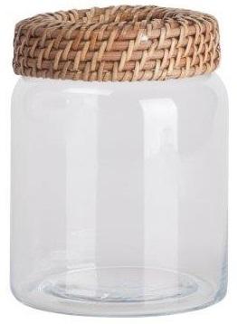 Емкость для хранения Panier PiccolaКухонные принадлежности<br>Ёмкость для хранения Panier Piccola выполнена <br>из прозрачного стекла, с винтовой металлической <br>крышкой коричневого цвета. Эта ёмкость <br>из коллекции Panier самая маленькая, но очень <br>удобная, совершенно безопасная, пригодная <br>для длительного использования. Приобретите <br>её в комплекте с другими емкостями из этой <br>коллекции — и вы получите замечательный <br>и стильный набор для своей кухни!<br><br>Цвет: прозрачный, коричневый<br>Материал: Стекло, Металл<br>Вес кг: 0,4<br>Длина см: 10<br>Ширина см: 10<br>Высота см: 12