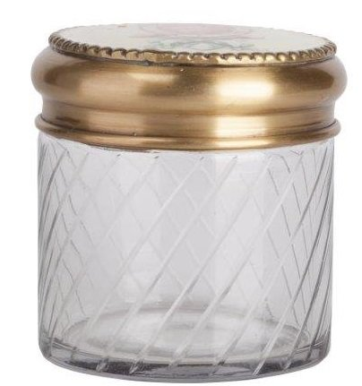 Декоративная банка Lubinier GrandeКухонные принадлежности<br>На стеклянную декоративную банку Lubinier <br>Grande, нанесён изумительный рифленый рисунок. <br>На металлической, золотого цвета, крышке <br>нанесён изысканный рисунок в красном цвете. <br>Благодаря изумительному дизайну, банка <br>станет отличным украшением любого стиля <br>интерьера кухни. Приобретите её в комплекте <br>с другими емкостями из этой коллекции — <br>и вы получите замечательный и стильный <br>набор для своей кухни!<br><br>Цвет: Золото, Прозрачный<br>Материал: Стекло, Металл<br>Вес кг: 0,5<br>Длина см: 10<br>Ширина см: 10<br>Высота см: 10