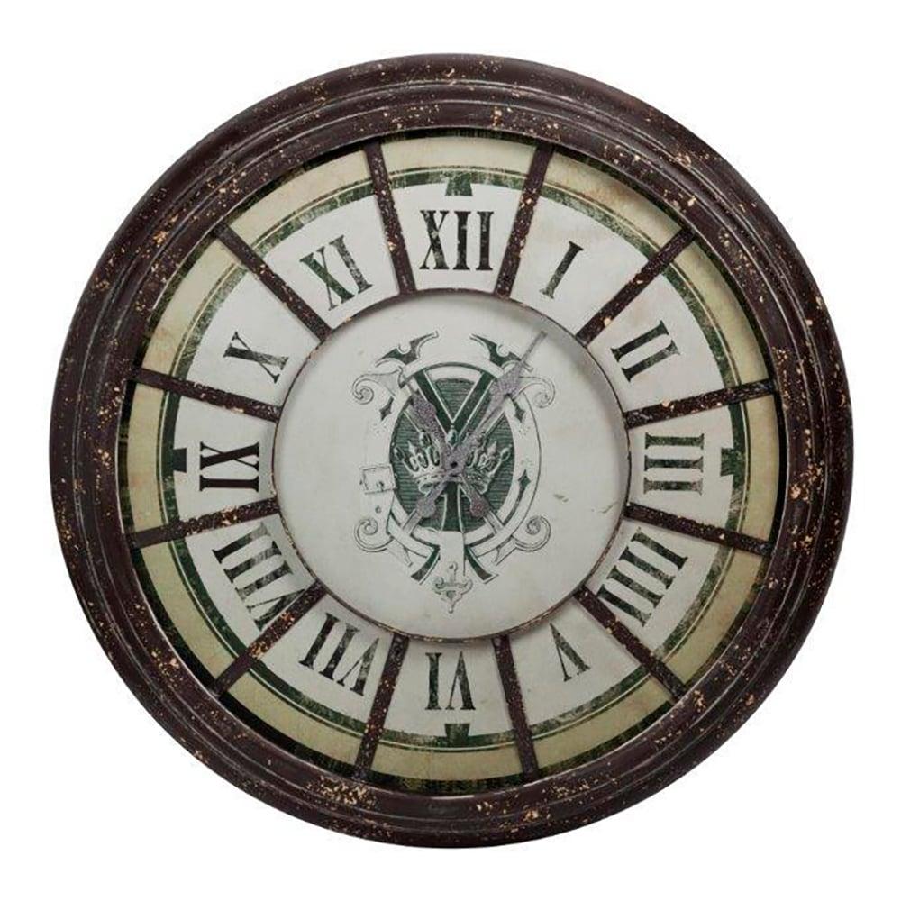 Настенные часы MarettoЧасы<br>Настенные часы Maretto — это изысканный и <br>одновременно роскошный предмет украшения <br>вашего дома. Аксессуар прекрасно впишется <br>в интерьер, оформленный в стиле Прованс. <br>Коричневое основание часов позволяет ему <br>выделяться на стенах пастельных оттенков, <br>добавляя комнате яркости и оригинальности. <br>Часы символизируют надежду на лучшую, более <br>удачную жизнь. Часы вдохновляют владельца <br>никогда не останавливаться на достигнутом, <br>всегда идти вперед к новым достижениям.<br><br>Цвет: Коричневый, Белый, Бежевый<br>Материал: Металл, Стекло<br>Вес кг: 5,3<br>Длина см: 93<br>Ширина см: 93<br>Высота см: 9
