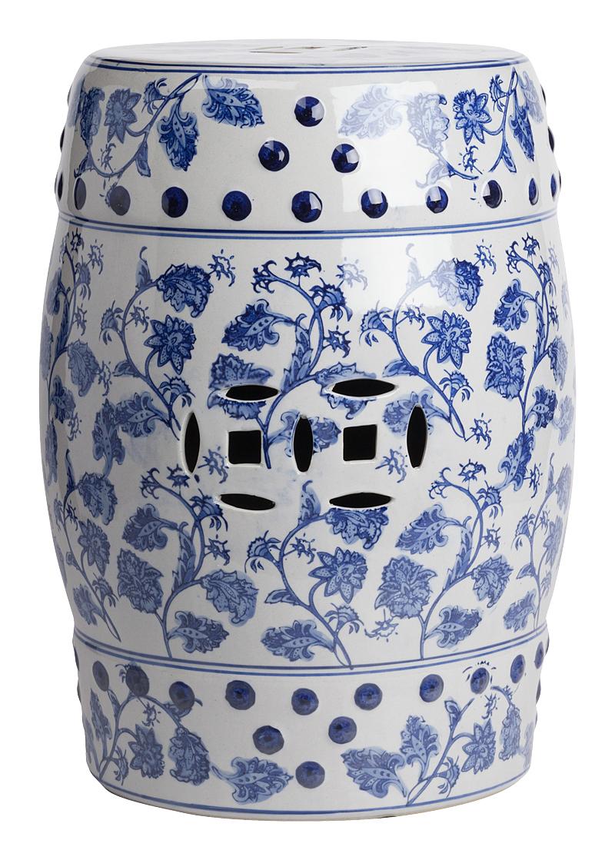Купить Керамический столик-табурет Garden Stool Fleur в интернет магазине дизайнерской мебели и аксессуаров для дома и дачи