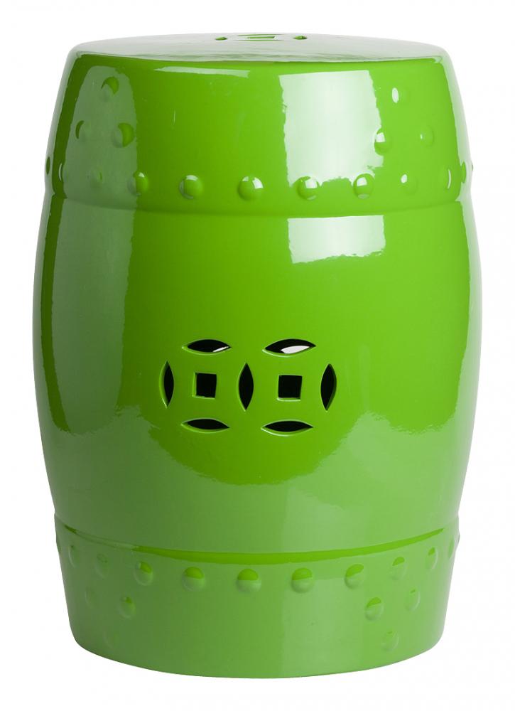 Керамический столик-табурет Garden Stool Зеленый, • DG-F-BT26