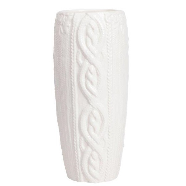 Ваза SpigettaВазы<br>Ваза для цветов из керамики в форме вытянутого <br>цилиндра белого цвета. Прекрасно украсит <br>любой интерьер. Элемент декора изготовлен <br>из совершенно безопасного натурального <br>материала, такая ваза подойдёт для стиля <br>Прованс, восточный, модерн.<br><br>Цвет: Белый<br>Материал: Керамика<br>Вес кг: 1,2<br>Длина см: 11,51<br>Ширина см: 11,51<br>Высота см: 29,01