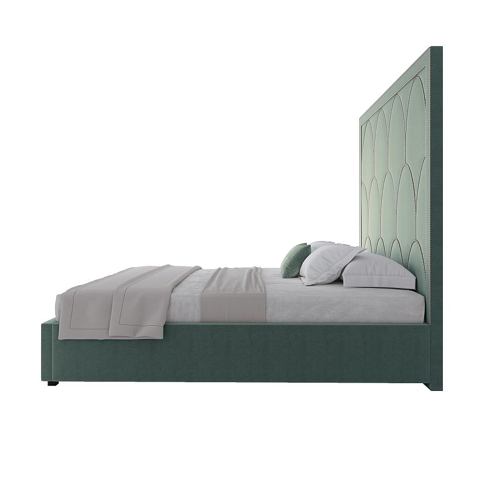 Кровать Petals Queen Аквамарин 160х200 Р