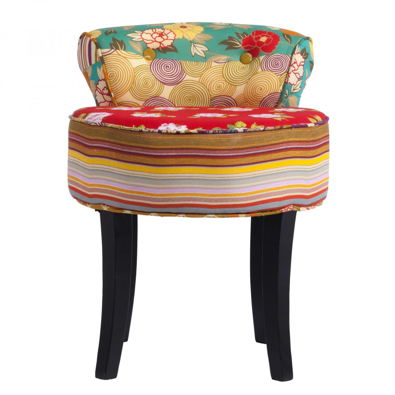 Купить Стул Chevalier Рисунок Лен в интернет магазине дизайнерской мебели и аксессуаров для дома и дачи
