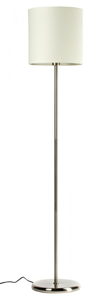 Торшер Amelie, DG-FL077  Строгий, но изящный, торшер Amelie выполнен  в минималистическом стиле. Белый тканевый  плафон, высокая прямая ножка и лаконичное  никелированное основание подчеркивают  элегантную простоту изделия. В нем нет ничего  лишнего, и, в то же время, этот торшер достойно  дополнит любой интерьер. Размеры плафона:  диаметр 30 см, высота 30 см. Упаковано в 2 коробки  размерами 9*48*30 см и 34*32*32 см.