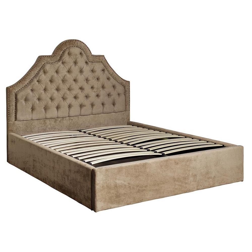 Кровать Province-F бежевая 172*217*147 с подъемным механизмом