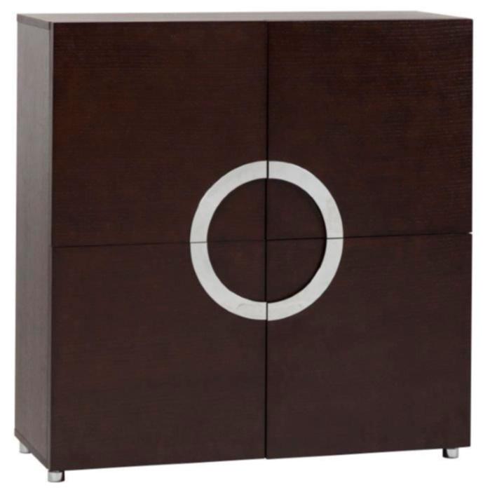Комод Lotus BrownКомоды<br>Одновременно вместительный и стильный, <br>этот комод будет отличным дополнением для <br>интерьера в стиле хай-тек, особенно хорошо <br>он будет смотреться в сочетании с техников: <br>большим плазменным телевизором, аудиосистемой, <br>колонками. В этом комоде — четыре отделения. <br>Он выполнен из дерева коричневого цвета, <br>имеет квадратный фасад с четырьмя дверцами, <br>а посередине расположены ручки из хромированного <br>металла, соединенные в круг.<br><br>Цвет: Коричневый<br>Материал: МДФ<br>Вес кг: 49<br>Длина см: 100<br>Ширина см: 40<br>Высота см: 105