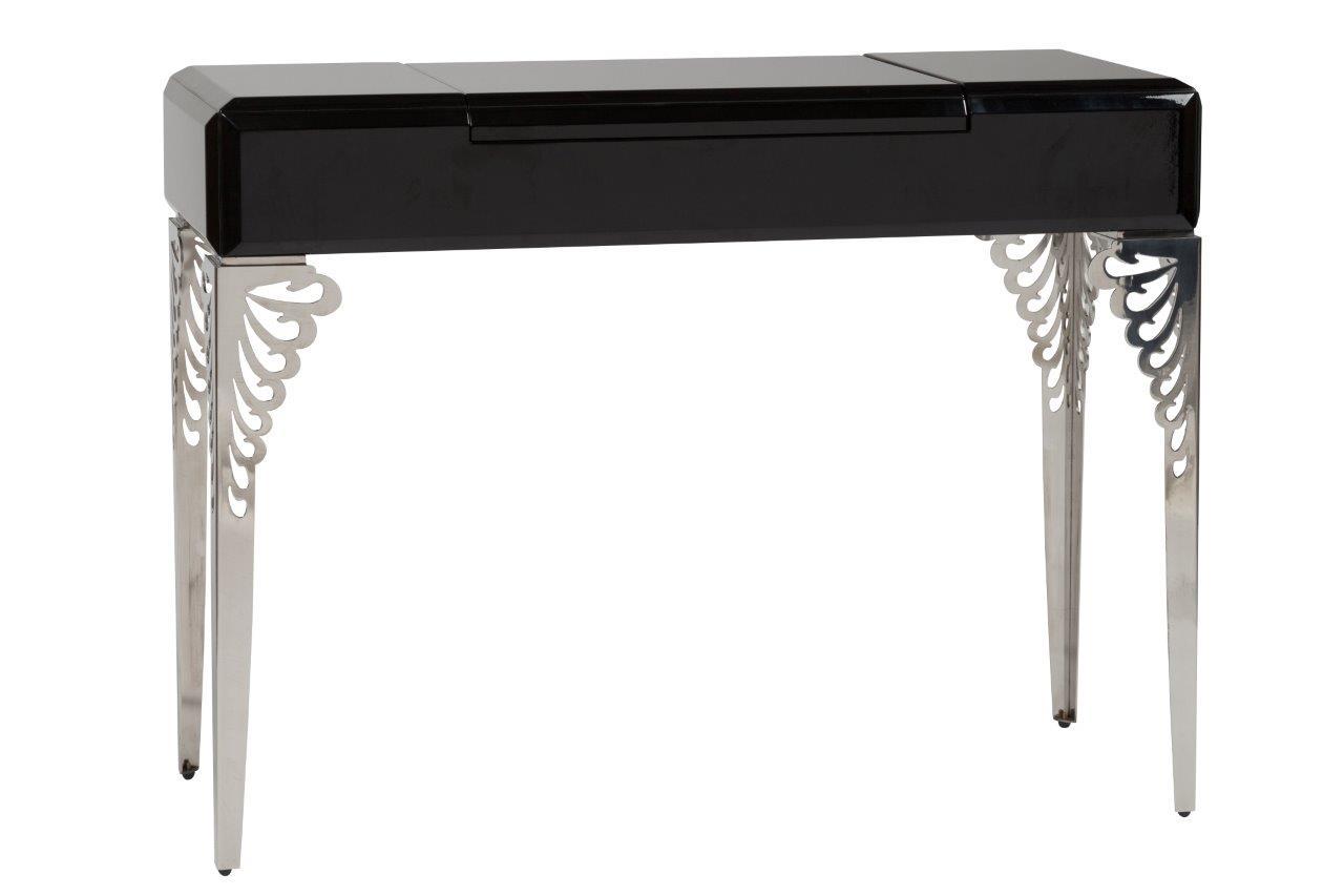 Купить Туалетный столик с зеркалом Triangl Black Two в интернет магазине дизайнерской мебели и аксессуаров для дома и дачи