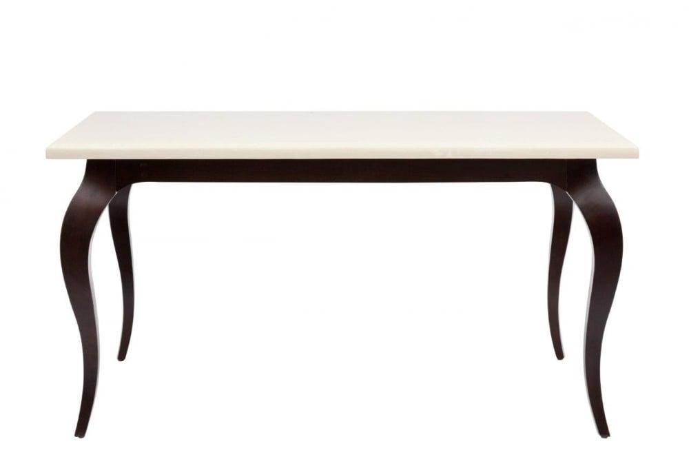 Обеденный стол Riviere Medio, DG-F-TB99-2Обеденные столы<br><br><br>Цвет: Кремовый<br>Материал: дерево (ясень), натуральный мрамор<br>Вес кг: 55<br>Длинна см: 107<br>Ширина см: 145,5<br>Высота см: 80