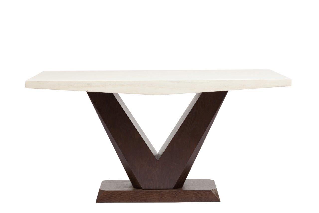Купить Обеденный стол мраморный Arrondi Medio в интернет магазине дизайнерской мебели и аксессуаров для дома и дачи