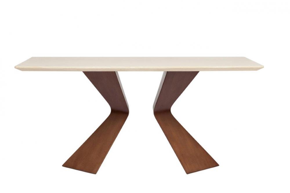 Обеденнный стол мраморный Starck GrandeОбеденные столы<br>Столешница - композитный мрамор, основа <br>- дерево (ясень)<br><br>Цвет: Бежевый, Коричневый<br>Материал: Дерево,Мрамор<br>Вес кг: 60<br>Длина см: 160<br>Ширина см: 90<br>Высота см: 75