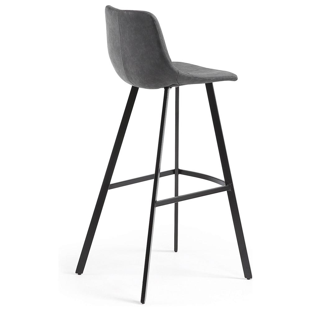 Барный стул Andi графит от La Forma (ex Julia Grup)