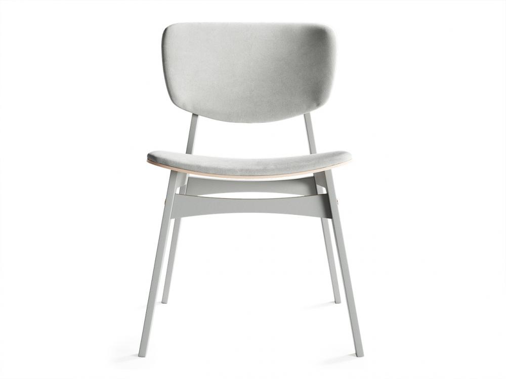 Мягкий стул SID Светлая берёза / Светло-Серый / Ткань категория 2, арт. 004 - купить за 18900 руб. в интернет-магазине DG-Home