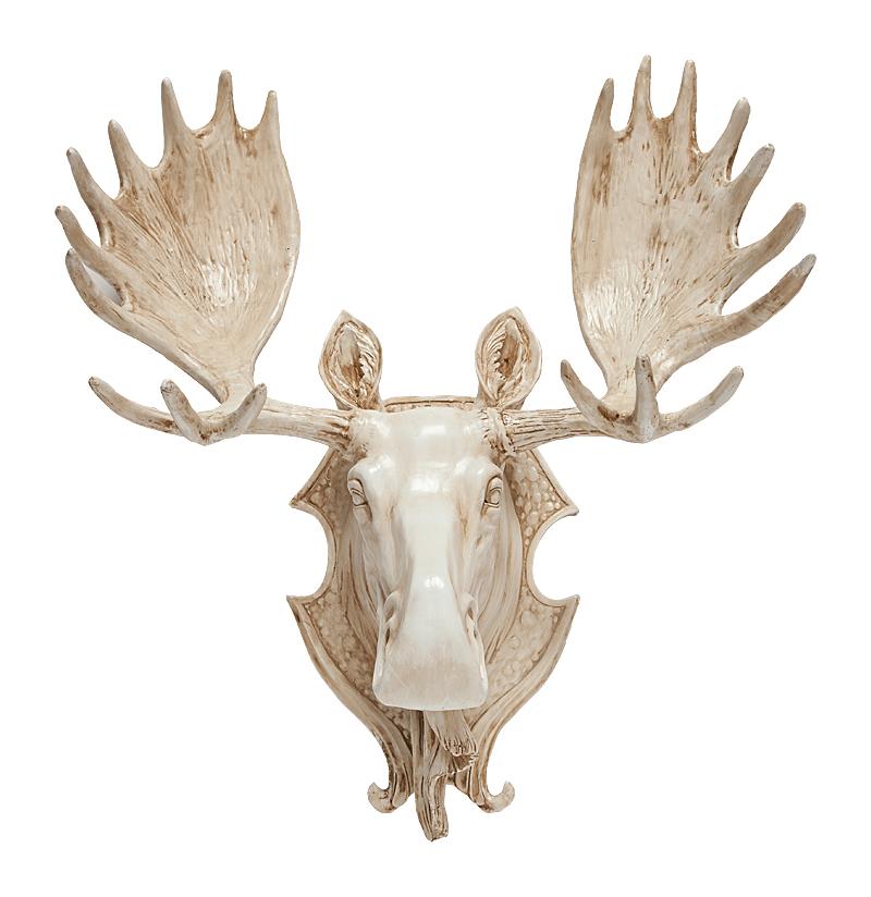 Купить Декоративная голова лося Cornellos в интернет магазине дизайнерской мебели и аксессуаров для дома и дачи