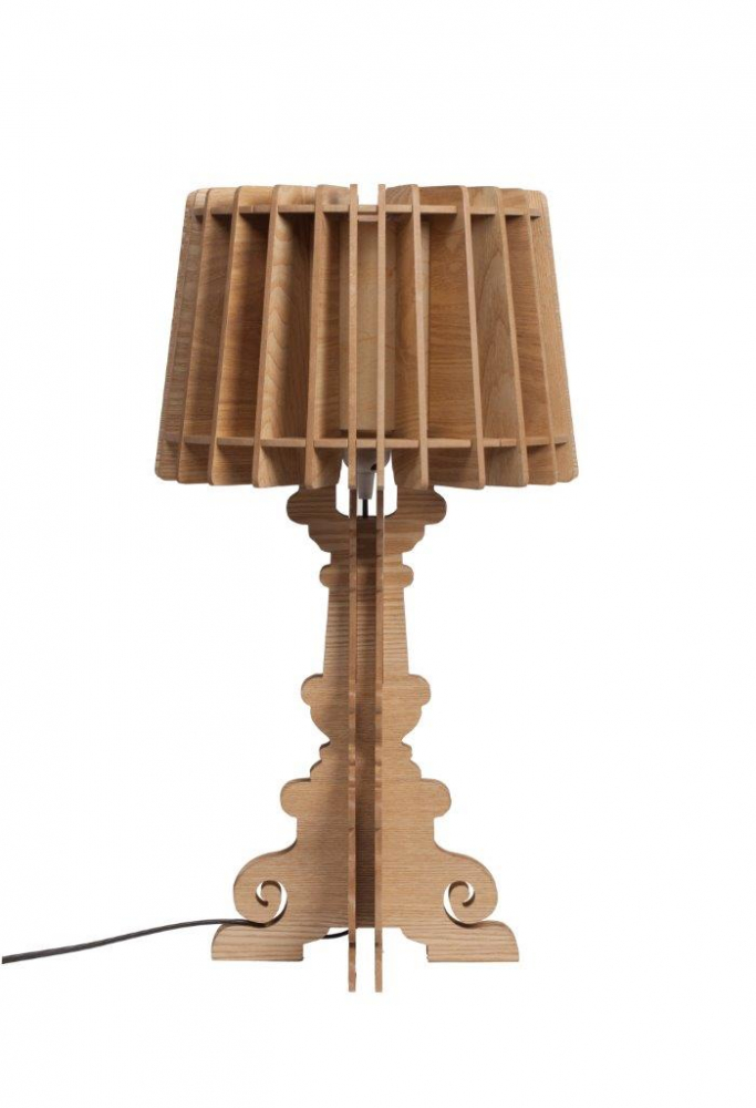 Настольная лампа Bordja GoldНастольные лампы<br>Настольная лампа Bordja Gold имеет оригинальную <br>и ультрамодную форму, но при этом выполнена <br>из дерева, поэтому она придает чувство уюта <br>и комфорта интерьеру. Абажур лампы выполнен <br>из тонких дощечек, а резная вычурная ножка <br>смотрится оригинально и стильно. Это прекрасная <br>альтернатива современным лампам из стекла <br>и пластика. Особенно интересно такая деталь <br>интерьера будет выглядеть в деревянном <br>загородном доме. Купите настольную лампу <br>Bordja Gold — воплощение смелых дизайнерских <br>идей, воздушности и современного аристократизма!<br><br>Цвет: Коричневый<br>Материал: МДФ<br>Вес кг: 2,8<br>Длина см: 32<br>Ширина см: 32<br>Высота см: 58