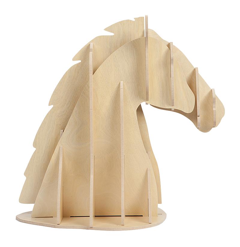 Купить Декоративный бюст лошади Vixen Light Brown в интернет магазине дизайнерской мебели и аксессуаров для дома и дачи