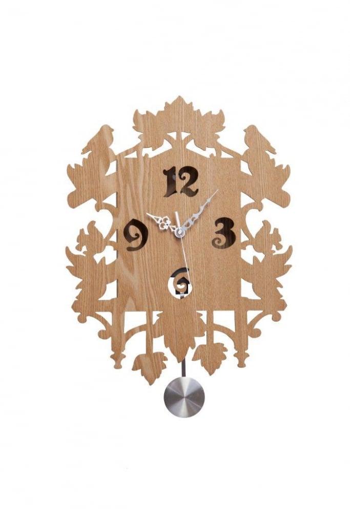 Настенные часы с маятником Puzzle Sand