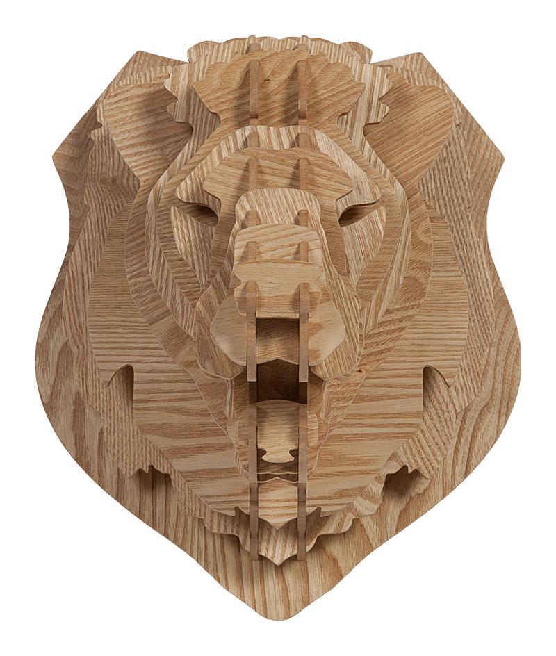 Купить Декоративная голова льва Barlok Sand в интернет магазине дизайнерской мебели и аксессуаров для дома и дачи