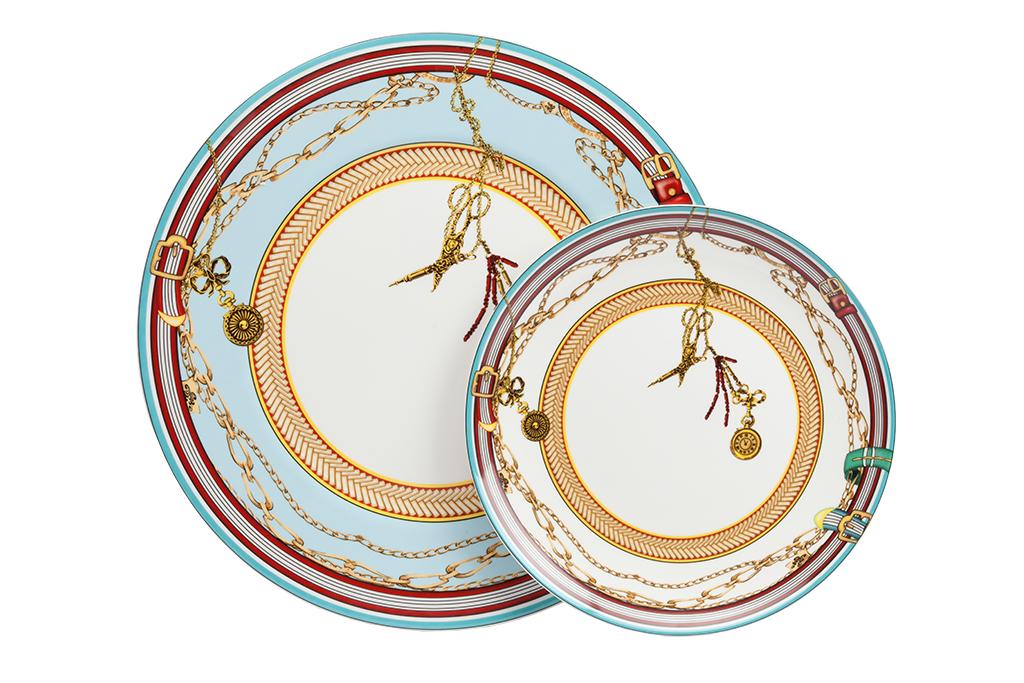 Купить Комплект тарелок Veluche в интернет магазине дизайнерской мебели и аксессуаров для дома и дачи