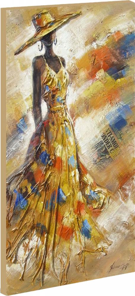 Картина маслом  Мода