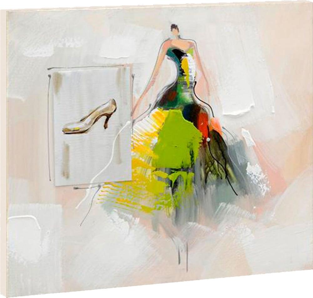 Картина маслом  Потерянная туфелька